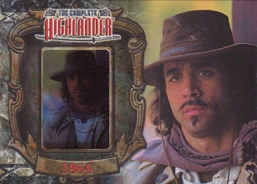 Highlander Complete The Wanderer Duncan MacLeod W6 Chase Card   - TvMovieCards.com