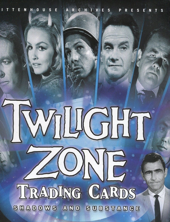 Twilight Zone 3 Shadows and Substance Empty Card Album