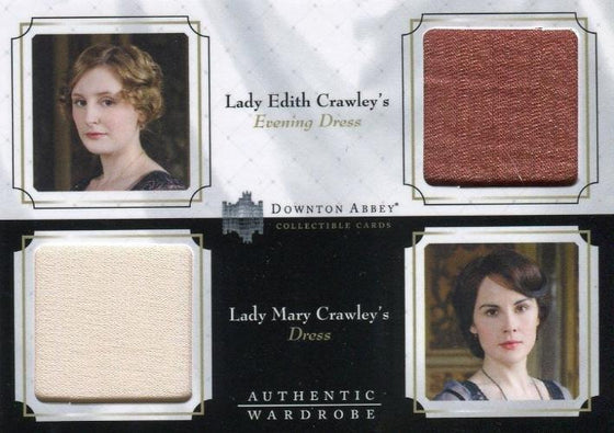 Downton Abbey Seasons 1 & 2 Double Wardrobe Costume Card DW01 Front