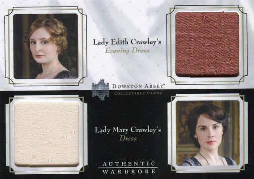 Downton Abbey Seasons 1 & 2 Double Wardrobe Costume Card DW01   - TvMovieCards.com