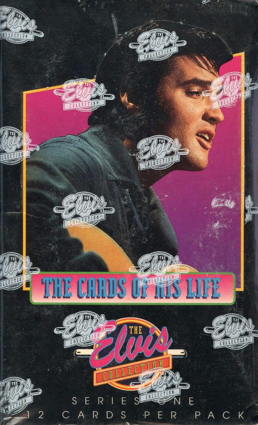 Elvis Presley Series One Trading Card Box - 1992 River Group   - TvMovieCards.com