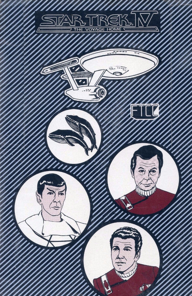 Star Trek IV The Voyage Home Card Box