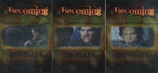 Supernatural Connections Becoming Reckless Foil Box Loader Chase Card Set   - TvMovieCards.com