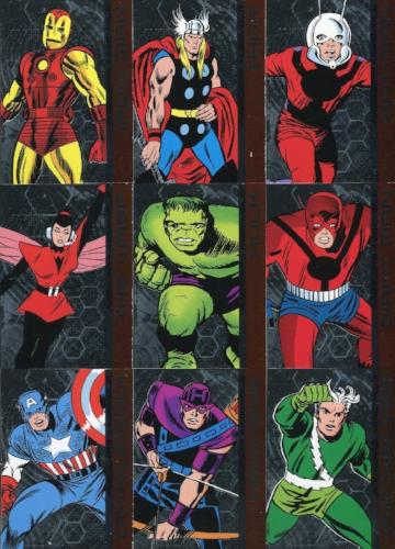 Avengers The Silver Age Roll Call Chase Card Set AA1 - AA17   - TvMovieCards.com