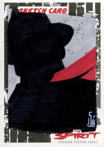 Spirit The Spirit Sketch Card by Jamie Snell SK-14 Front#2