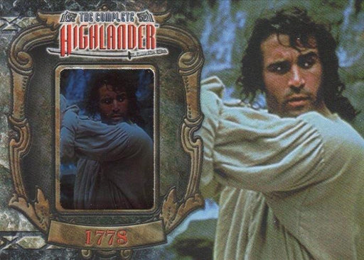 Highlander Complete The Wanderer Duncan MacLeod W3 Chase Card   - TvMovieCards.com