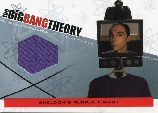 Big Bang Theory Seasons 3 & 4 Sheldon's T-Shirt Wardrobe Costume Card M-01.1   - TvMovieCards.com