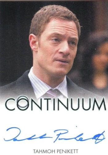 Continuum Seasons 1 & 2 Tahmoh Penikett as Jim Martin Autograph Card Front