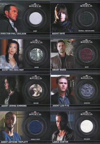 Agents of S.H.I.E.L.D. Season 2 Costume Card Set 17 Cards   - TvMovieCards.com