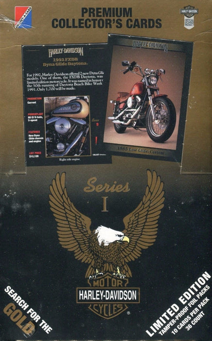 Harley Davidson Series One Card Box   - TvMovieCards.com