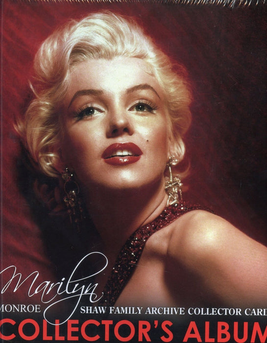 Marilyn Monroe Shaw Family Archive Card Album with Base Set   - TvMovieCards.com