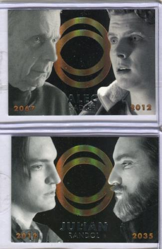 Continuum Seasons 1 & 2 Future Self Case Topper Chase Card Set CT1 CT2   - TvMovieCards.com