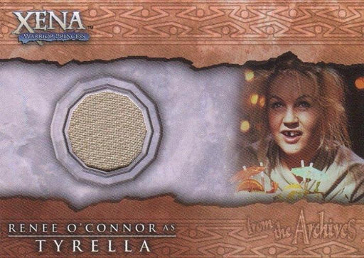 Xena Beauty and Brawn Renee O'Connor as Tyrella Costume Card C4   - TvMovieCards.com