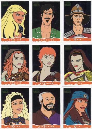 Xena & Hercules Animated Adventures Animated Extras John Czop Chase Card Set   - TvMovieCards.com