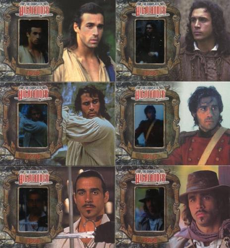 Highlander Complete The Wanderer Chase Card Set   - TvMovieCards.com