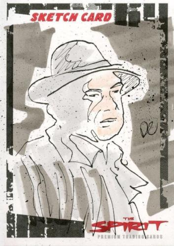 Spirit The Spirit Sketch Card by Daniel Cooney SK-6   - TvMovieCards.com