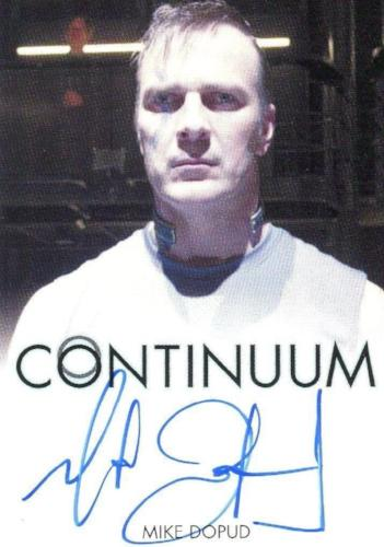Continuum Seasons 1 & 2 Mike Dopud as Stefan Jaworski Autograph Card Front