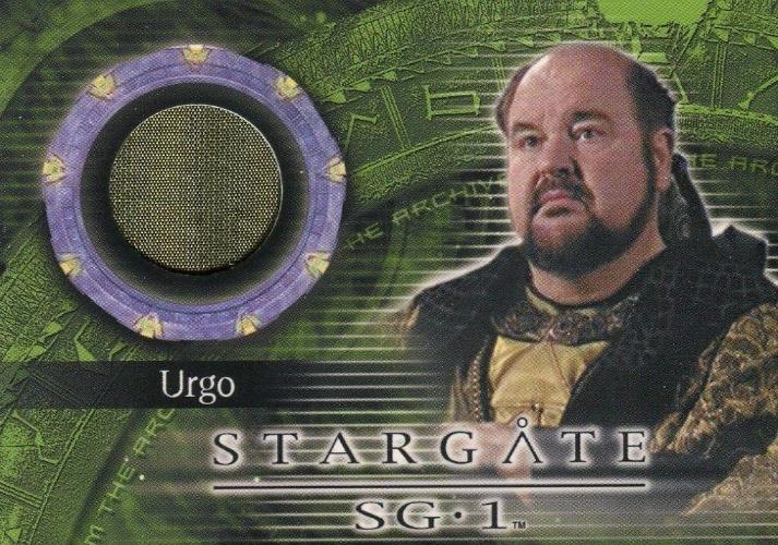 Stargate SG-1 Season Eight Urgo Costume Card C33   - TvMovieCards.com