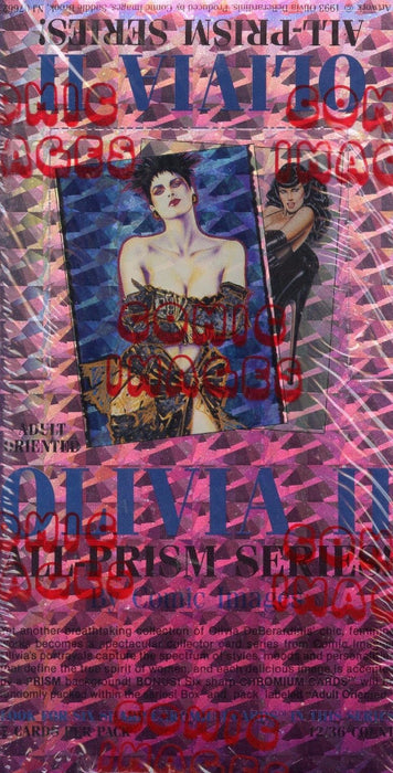 Olivia Series II All Prism Card Box   - TvMovieCards.com