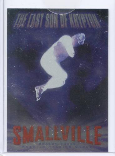 Smallville Season Three The Last Son of Krypton Case Topper Chase Card CL1   - TvMovieCards.com