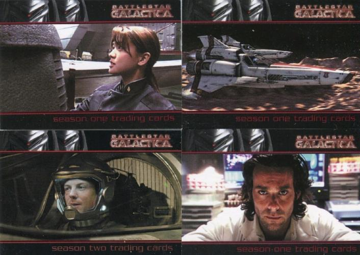 Battlestar Galactica Season One Promo Card Lot   - TvMovieCards.com