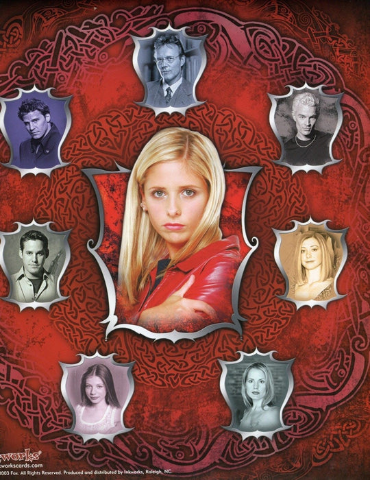 Buffy The Vampire Slayer Connections Card Album   - TvMovieCards.com
