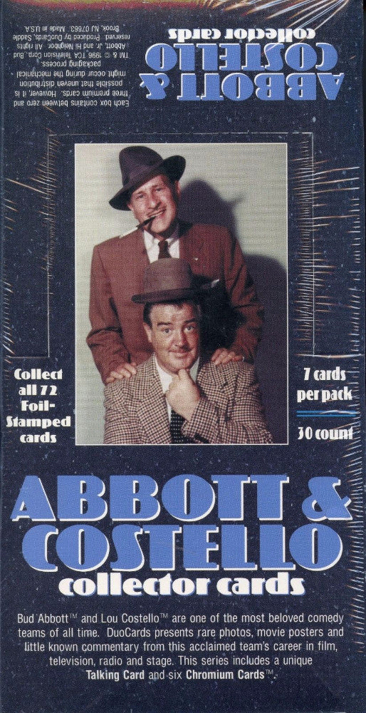 Abbott & Costello Card Box