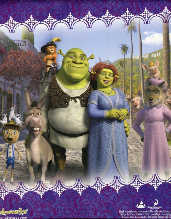 Shrek The Third Movie Card Album   - TvMovieCards.com
