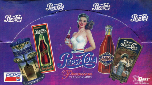 Pepsi Cola Premium Card Box   - TvMovieCards.com