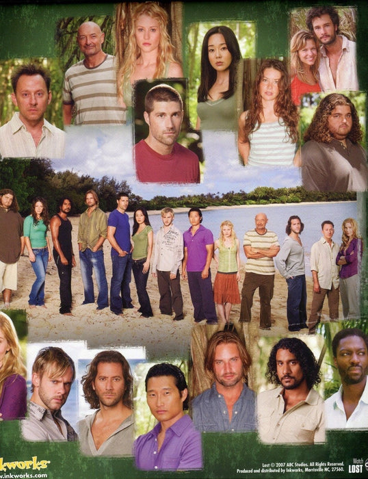 Lost Season 3 Card Album   - TvMovieCards.com