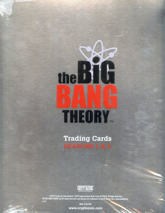 Big Bang Theory Seasons 1 & 2 Platinum Edition Card Album   - TvMovieCards.com
