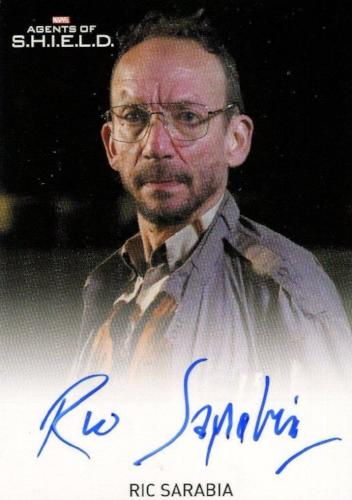 Agents of S.H.I.E.L.D. Season 2 Ric Sarabia Autograph Card   - TvMovieCards.com