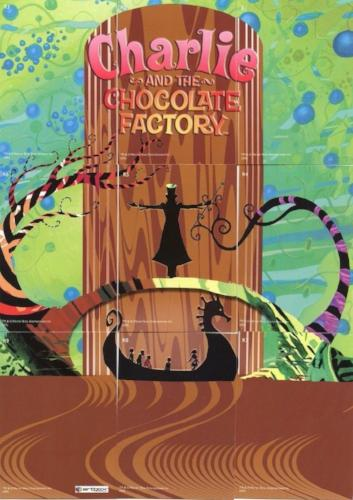 Charlie & Chocolate Factory Holographic Foil Puzzle Chase Card Set 9 Cards   - TvMovieCards.com
