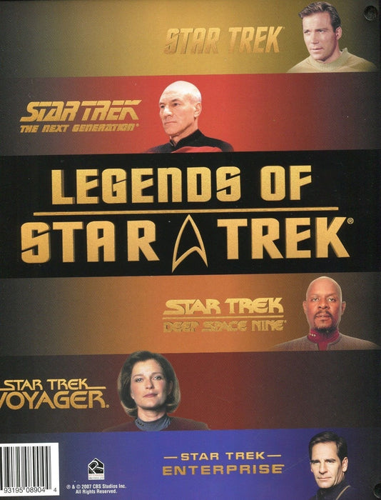 Star Trek Legends of Star Trek Empty Card Album   - TvMovieCards.com