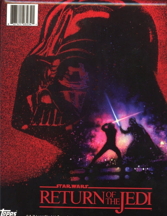 Star Wars Return of the Jedi Collector Card Album   - TvMovieCards.com