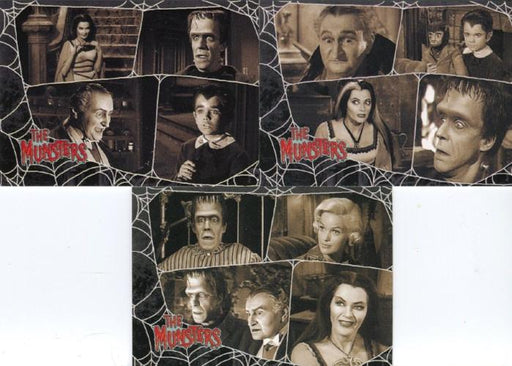 Munsters (2005) Promo Card Set 3 Cards   - TvMovieCards.com