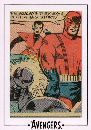 Avengers The Silver Age Comic Archive Cuts Chase Card AVK3 #70/216   - TvMovieCards.com