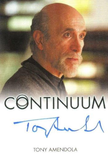 Continuum Seasons 1 & 2 Tony Amendola as Edouard Kagame Autograph Card Front