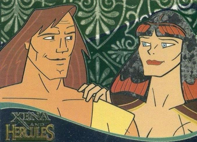 Xena & Hercules Animated Adventures Case Topper Chase Card XH1 Front