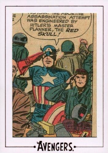 Avengers The Silver Age Comic Archive Cuts Chase Card AVK3 #147/216   - TvMovieCards.com