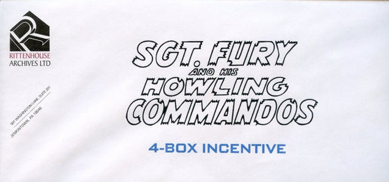 Sgt. Fury and His Howling Commandos Mark Texeira Sealed Incentive Sketch Card Front