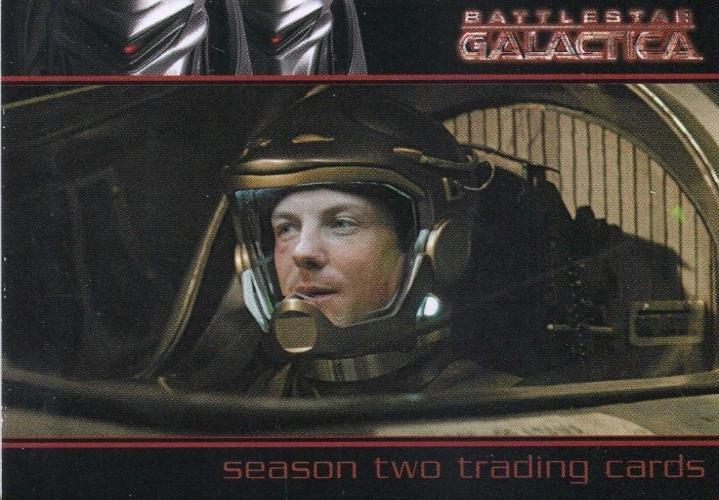 Battlestar Galactica Season Two P3 Promo Card   - TvMovieCards.com