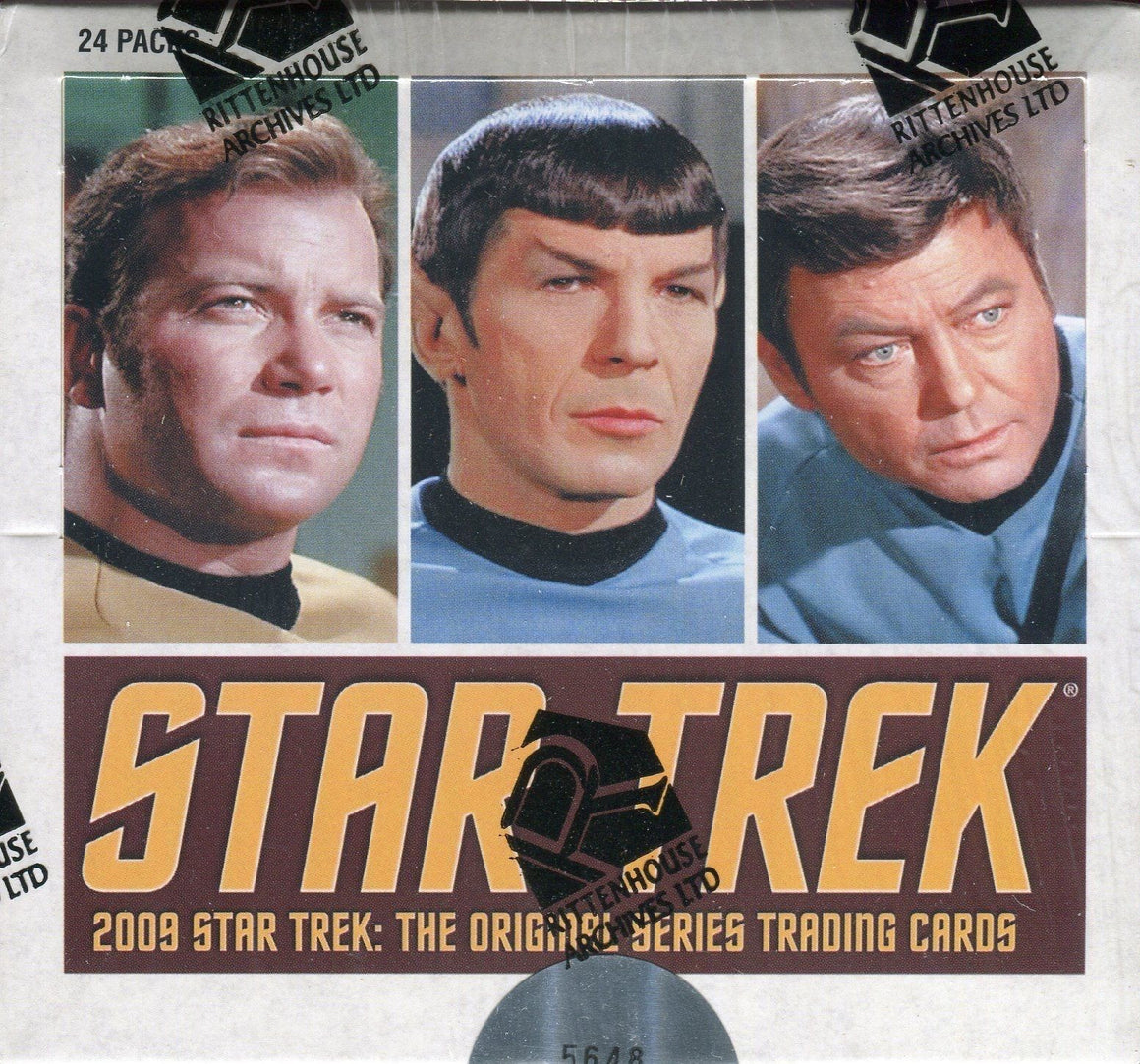 Star Trek The Original Series TOS 2009 Archives Card Box