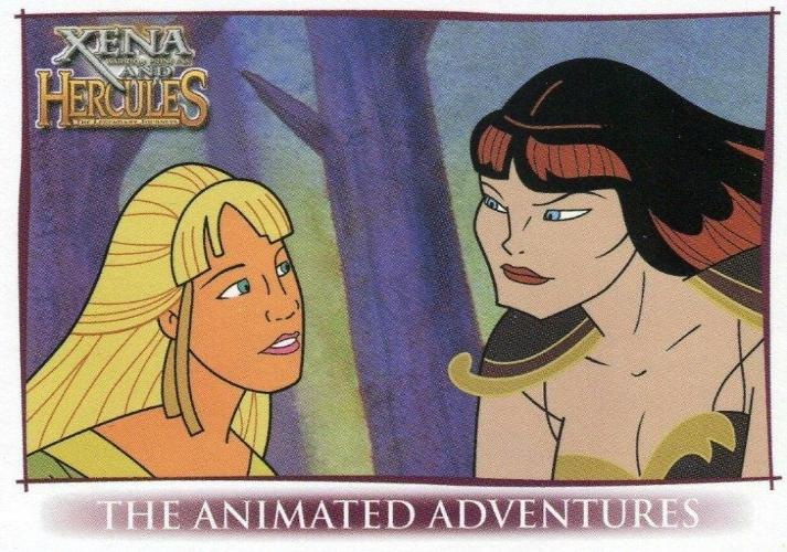 Xena & Hercules Animated Adventures Promo Card P2 Front