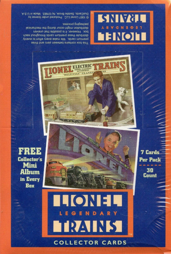 Lionel Legendary Trains Card Box