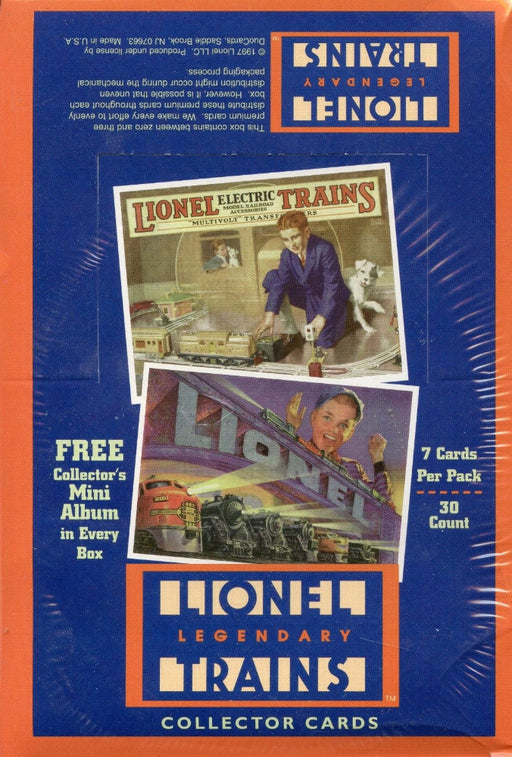 Lionel Legendary Trains Card Box   - TvMovieCards.com