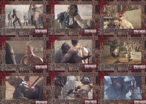 Spartacus Premium Packs Gladiators in Action Chase Card Set 9 Cards   - TvMovieCards.com