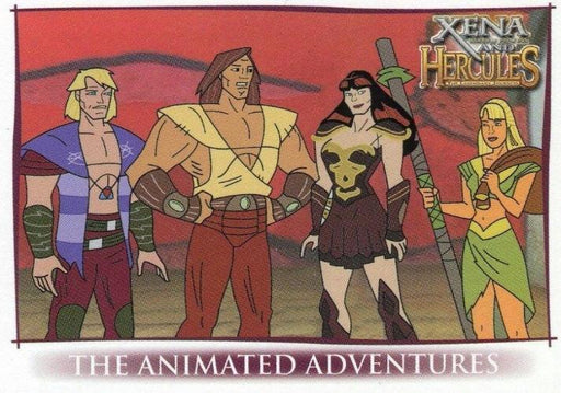 Xena & Hercules Animated Adventures Promo Card P3   - TvMovieCards.com