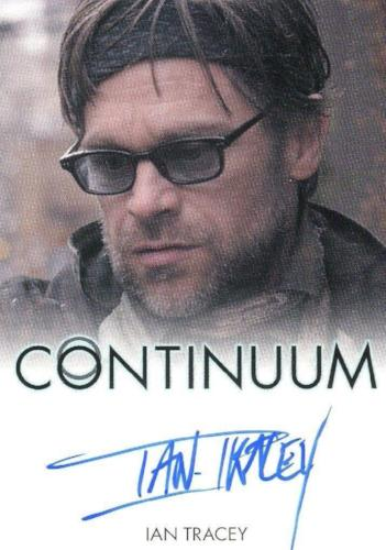 Continuum Seasons 1 & 2 Ian Tracey as Jason Sadler Autograph Card Front