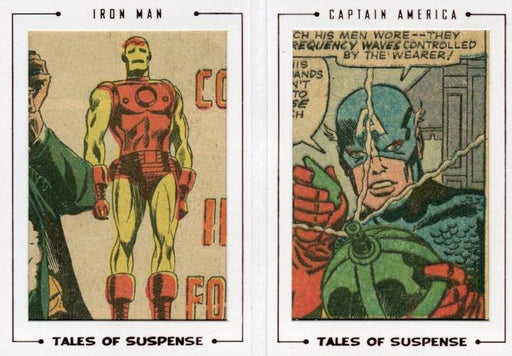 Avengers The Silver Age Double Comic Archive Cuts Chase Card TS79 #52/54   - TvMovieCards.com